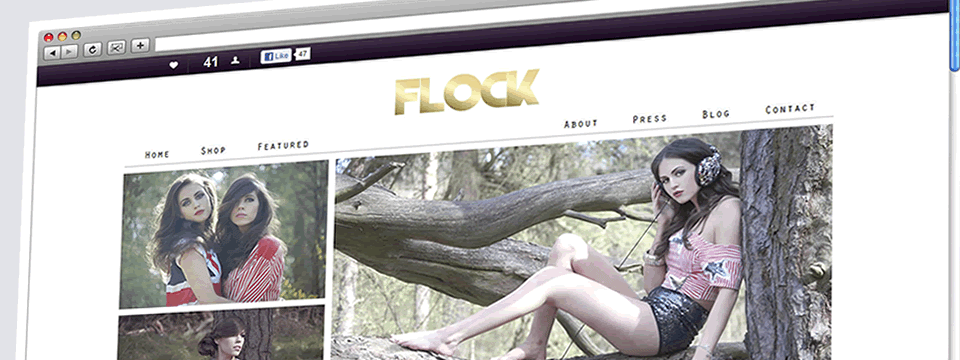 Flock | Web Design Sheffield