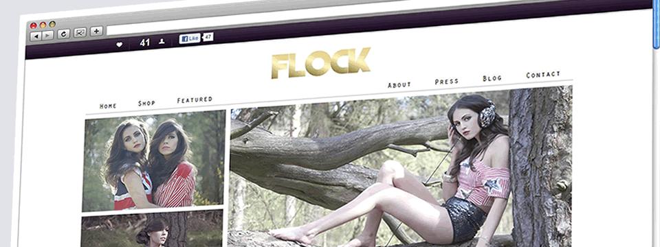 Flock | Web Design Sheffield