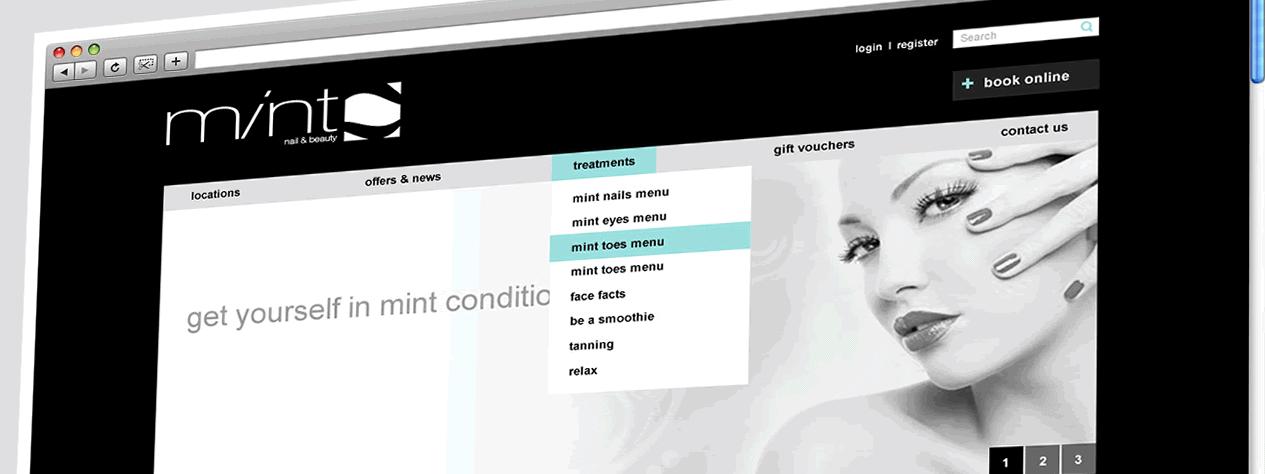 Mint Salons | Web Design Sheffield